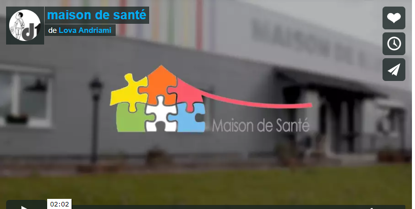 Vidéo de l'inauguration de la maison de santé de matzenheim